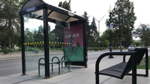 A Saskatoon bus stop. (File photo)