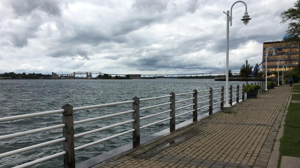 Sault Ste Marie Waterfront Boardwalk