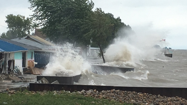 A State of Emergency has been declared in Chatham-Kent, Ont., Tuesday, Aug. 27, 2019. (Chris Campbell / CTV Windsor)