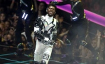 "Lil Nas X performs ""Panini"" at the MTV Video Music Awards at the Prudential Center on Monday, Aug. 26, 2019, in Newark, N.J. (Photo by Matt Sayles/Invision/AP)"