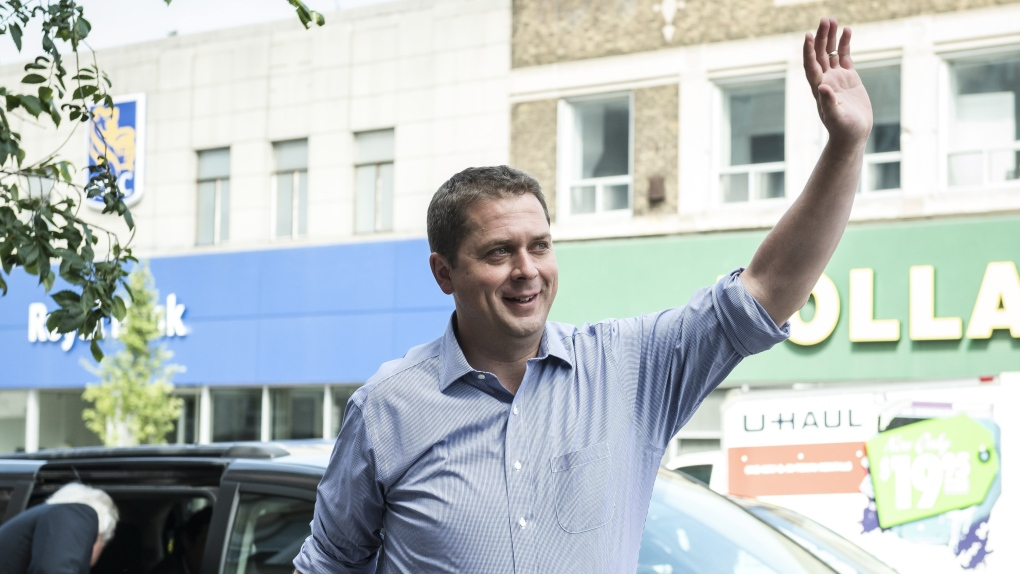Andrew Scheer surfaces after controversial week for Conservative leader