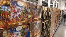 Christmas at Costco