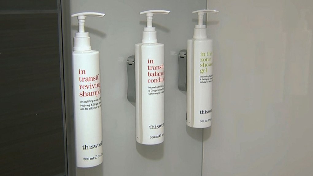 Shampoo, conditioner and shower gel containers