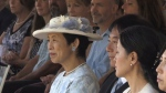 Japanese Princess Takamado on a return visit to Prince Edward Island attending the official opening of the new Montgomery Park and Green Gables visitor centre on Wednesday, August 28, 2019.