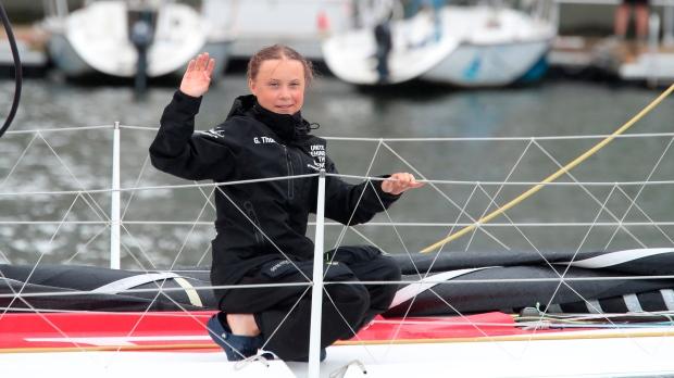Greta Thunberg clarifies Victoria invitation, says ferry emissions not an issue - CTV News