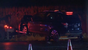 Six people were sent to hospital after a t-bone crash in Puslinch on August 28, 2019 (CTV Kitchener)