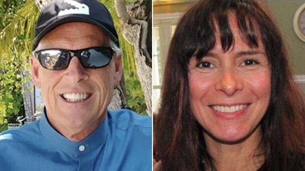 Gary Poltash, left, and Susanne Brito