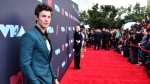 Shawn Mendes arrives at the MTV Video Music Awards at the Prudential Center on Monday, Aug. 26, 2019, in Newark, N.J. (Photo by Charles Sykes/Invision/AP)