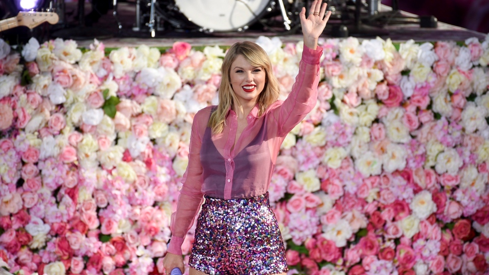 "Singer Taylor Swift performs on ABC's ""Good Morning America"" at Rumsey Playfield/SummerStage in Central Park on Thursday, Aug. 22, 2019, in New York. THE CANADIAN PRESS/AP-Photo by Evan Agostini/Invision/AP"