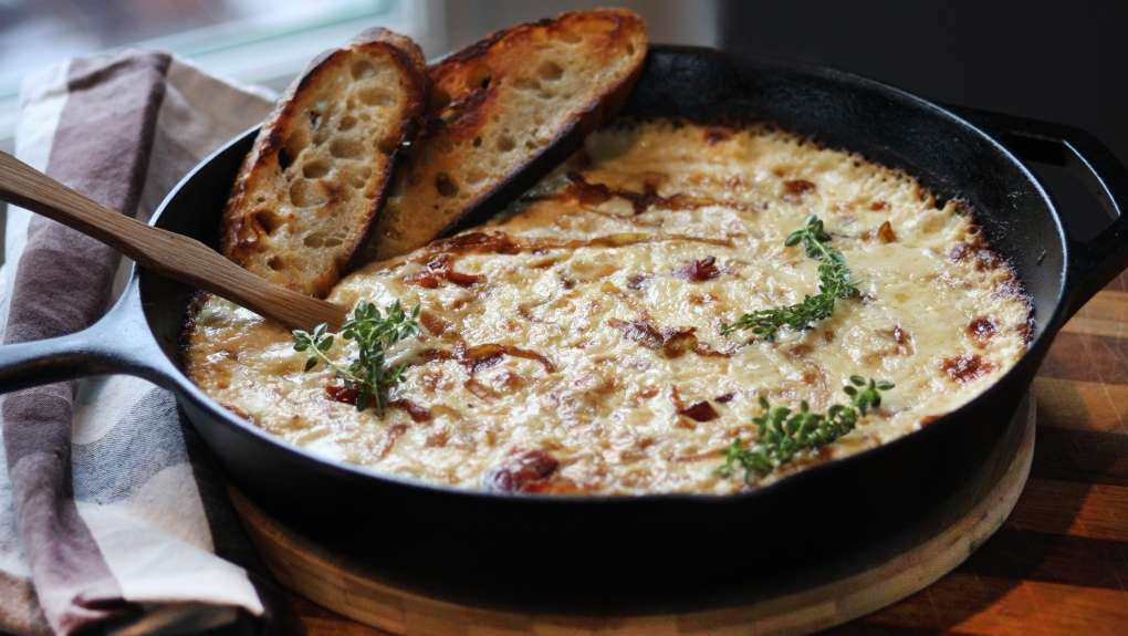 Bacon Onion Gruyere Dip