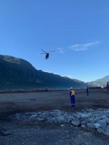 Air ambulance Squamish