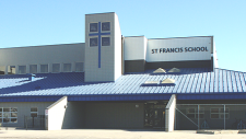An image of St. Francis School in Prince Albert from the school's website.