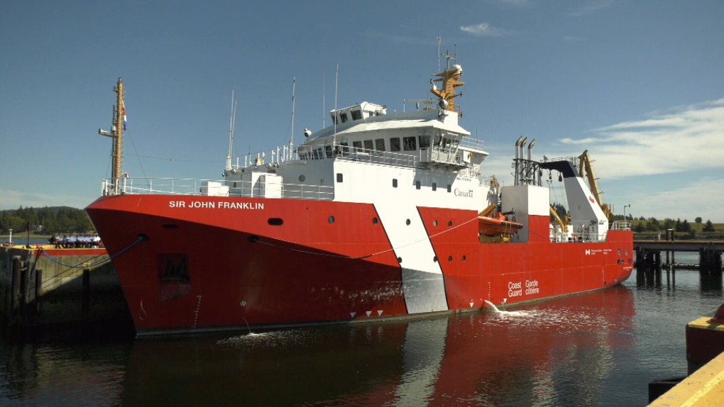 Canadian Coast Guard's newest ship dedicated in Sidney