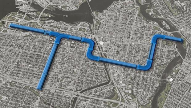 Ottawa's Combined Sewage Storage Tunnel