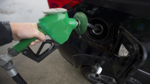 A car is fuelled up at a gas station in Vancouver, Wednesday, July 17, 2019. (Jonathan Hayward / The Canadian Press)