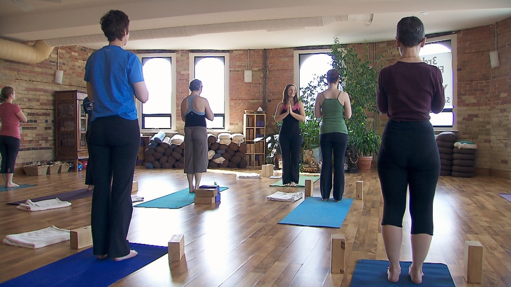 A Call For Equality In The Form Of Topless Yoga Ctv News