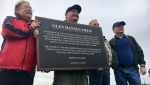 A northeast baseball diamond was named in honour of the Calgary man who helped build the sport in the city.