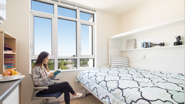 A total of 71 UBC students have elected to live in the university's smallest on-campus apartments. (UBC)