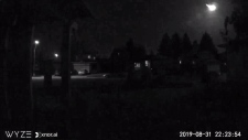 Edmonton fireball Aug. 31