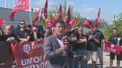 Unifor announces takeover of Nemak plant to protest closure on September 2, 2019