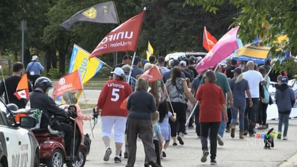 Sault Ste. Marie holds 60th annual march