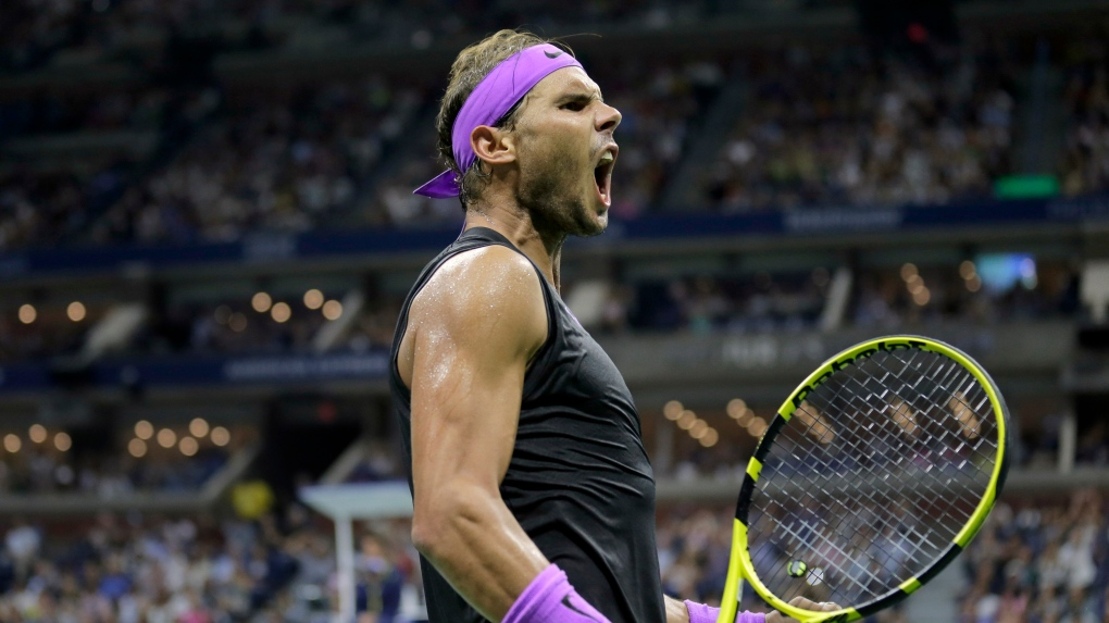 Rafael Nadal Looks Good At U S Open And Tiger Woods Approves Ctv News