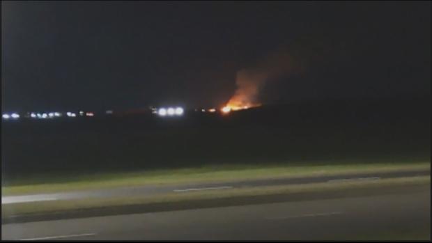 Red Deer industrial fire