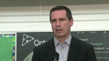 Premier Dalton McGuinty said on Wednesday, Aug. 26, 2008 that he doesn't expect a parade from Ontarians over the HST.