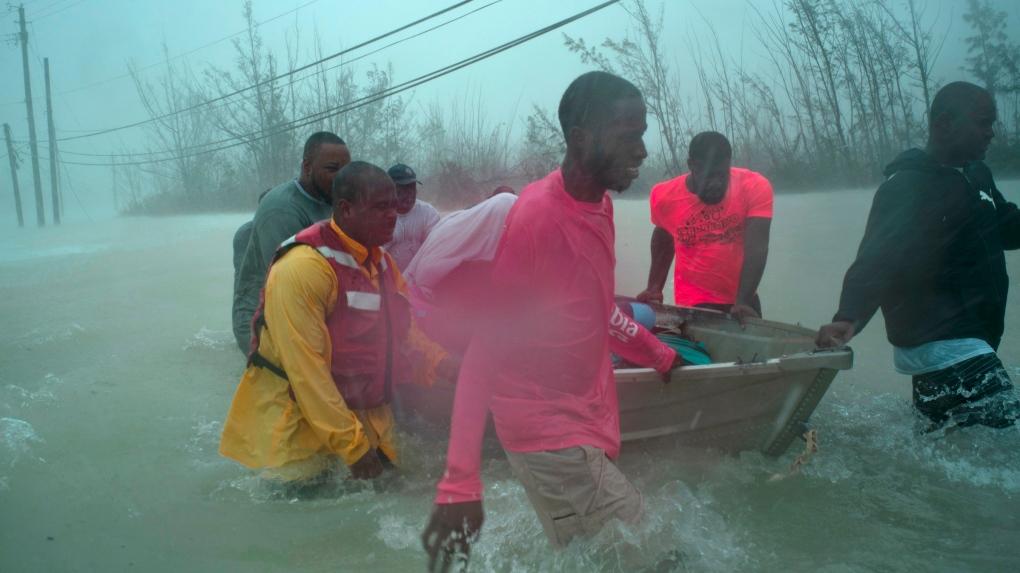 Bahamians begin rescues as Dorian moves on toward U.S. coast