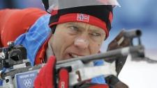 Halvard Hanevold in Whistler in 2010