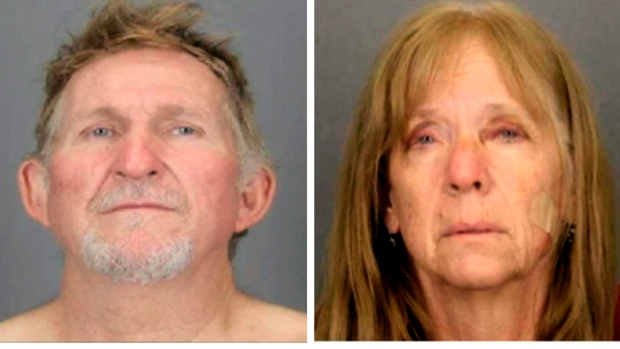 Fugitive couple facing murder charges back in custody