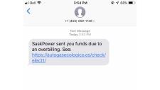 SaskPower scam