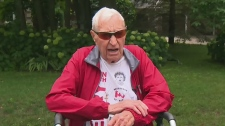 CTV National News:  94-year-old raising money