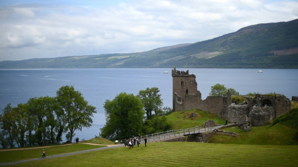 A new study suggests the elusive Loch Ness monster might be a giant eel given the amount of the fish's DNA in its waters. (AFP)