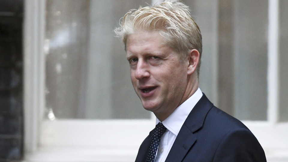 Jo Johnson arrives at Downing Street