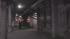 Ville Marie tunnel work