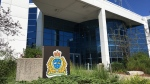Waterloo regional police headquarters (Natalie van Rooy / CTV Kitchener)