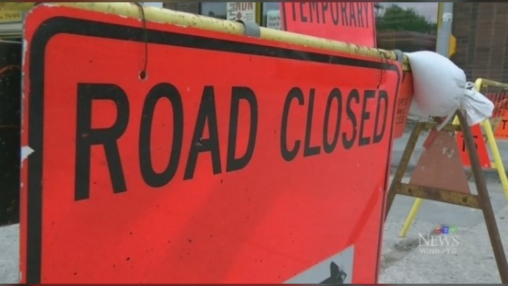 Road closures planned on busy Winnipeg routes throughout weekend
