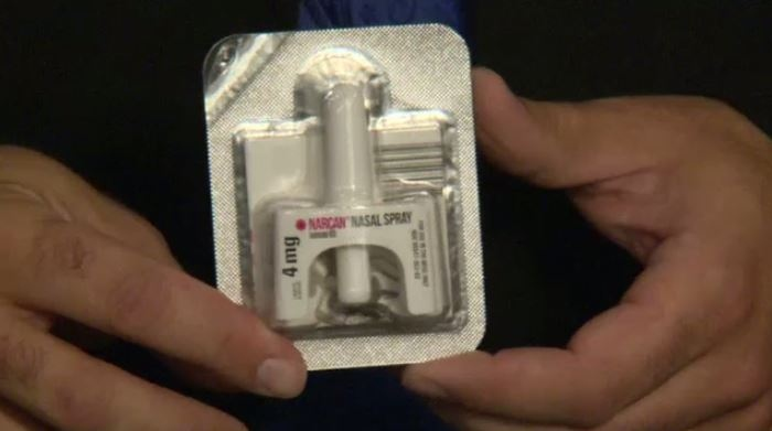 Cambridge firefighters can only administer naloxone to members of their own team.