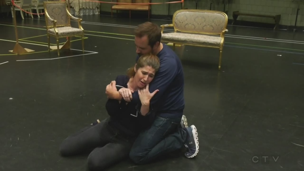 Real-life love story meets heartbreaking opera