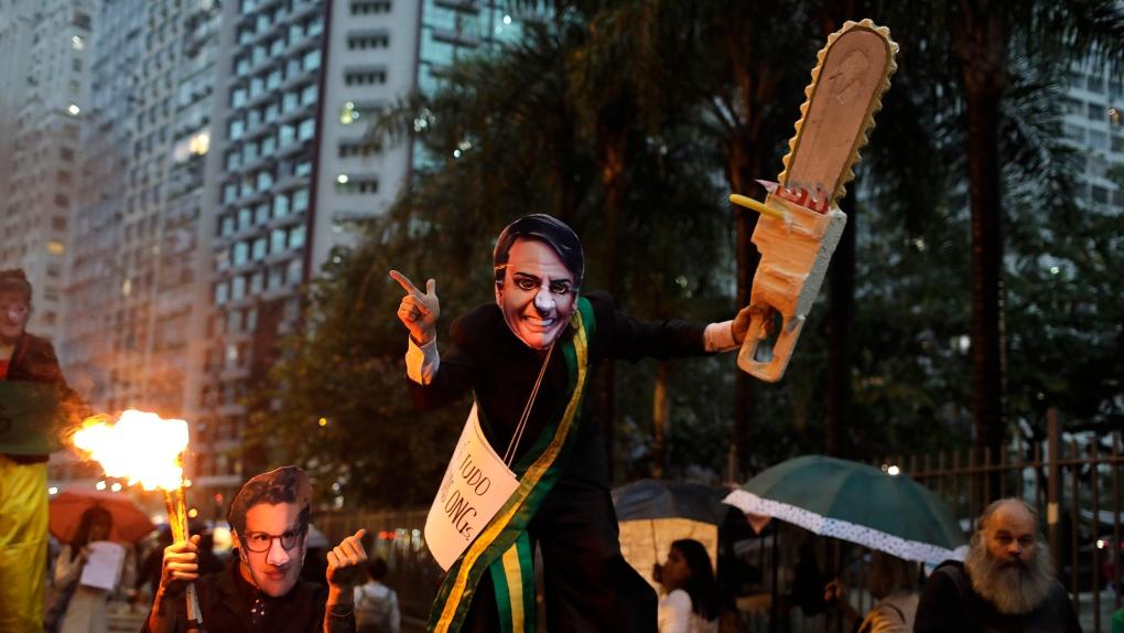 rio protest amazon