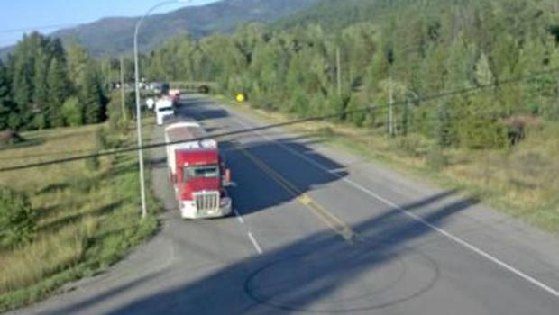 Fernie highway closed because of crash | CTV News