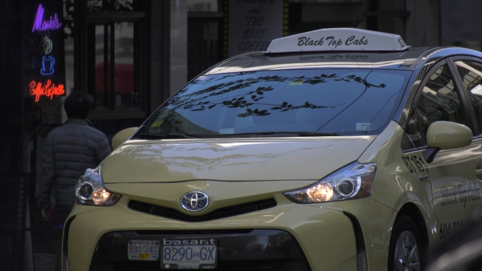A coalition of nine taxi companies has asked British Columbia Supreme Court to quash policies it says were illegally created for ride-hailing companies. (CTV)