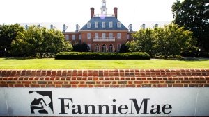 This Monday, Aug. 8, 2011, file photo shows the Fannie Mae headquarters in Washington. The Trump administration has unveiled its plan for ending government control of Fannie Mae and Freddie Mac, those are the two giant mortgage finance companies that nearly collapsed in the financial crisis 11 years ago and were bailed out by taxpayers at a total cost of $187 billion, Thursday, Sept. 5, 2019. (AP Photo/Manuel Balce Ceneta, File)