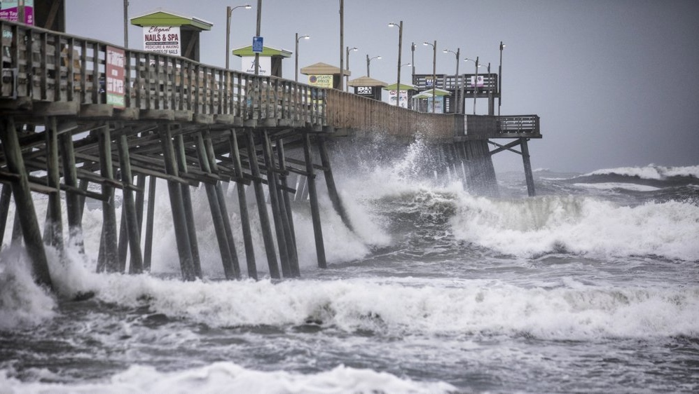 A weakened Dorian howls over North Carolina's Outer Banks