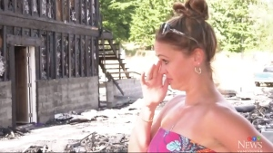 Wedding plans up in smoke after fire