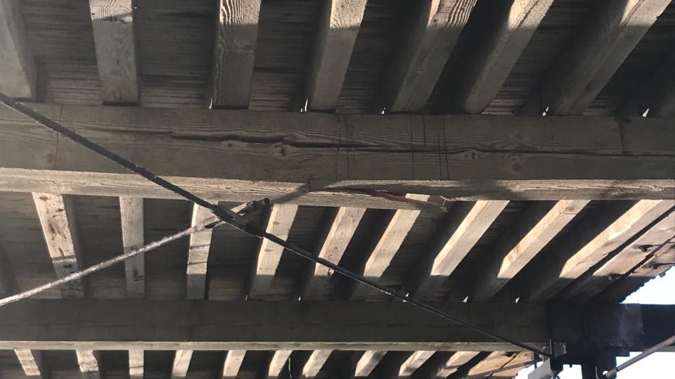 Broken beam