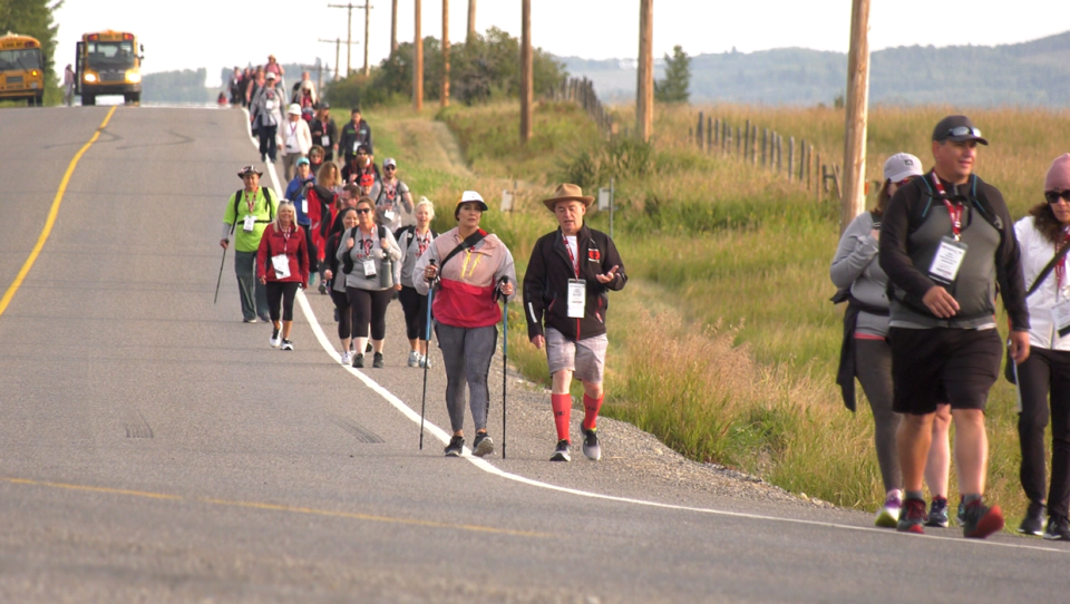 Supporters will walk 100 km from K-Country to Calgary to raise funds and awareness for kidney disease.