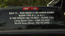 Mobile kidney donation appeal