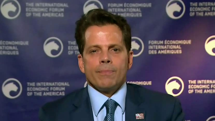 Anthony Scaramucci speaks to CTV News Channel from Toronto on Friday, Sept. 6, 2019.